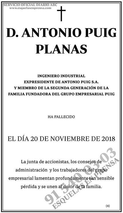 Antonio Puig Planas